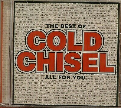 Cold Chisel  All For You  The Best Of  LIKE NEW  20 Trk  CD  2011 Jimmy Barnes