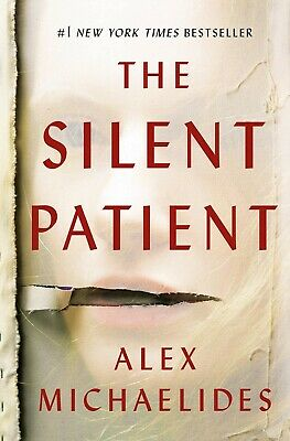 The Silent Patient  by Alex Michaelides Hardcover, 2019 Book