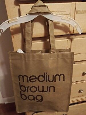 fdbaf82521 NWT BLOOMINGDALES LITTLE Brown Reusable Bag FREE SHIPPING!!! -  9.99 ...