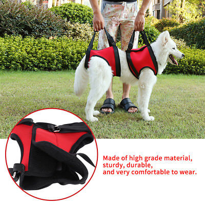 Soft Full Body Dog Lift Support Harness Injury Back Hip Assist Pet Dog Carriers