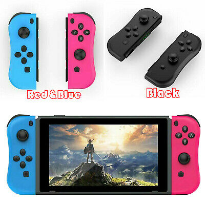 Joy-Con Wireless Bluetooth Game Controllers for Nintendo Switch Console (L/R)