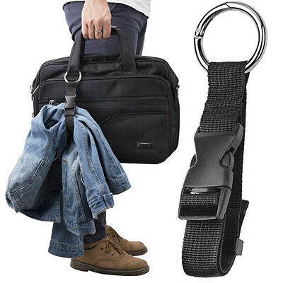 Add-A-Bag Luggage Strap Jacket Gripper Straps Baggage Suitcase Belts Travel