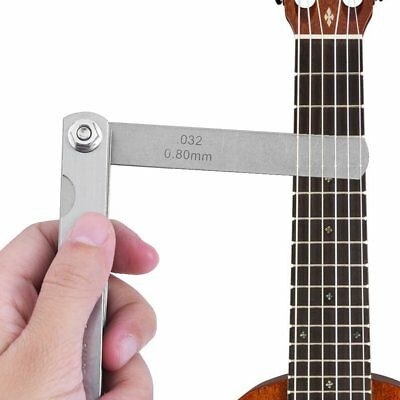 30 Blade Master Feeler Spark Plug Gap Gauge Measuring Guitar Set Up Tool Hotsale