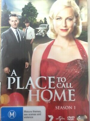 A PLACE TO CALL HOME - Season 1 4 x DVD Set BRAND NEW! Complete First Series One
