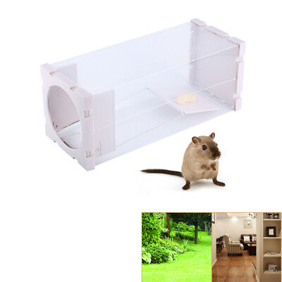 Humane Rat Trap Cage Animal Pest Rodent Mice Mouse Bait Catch Capture Tool