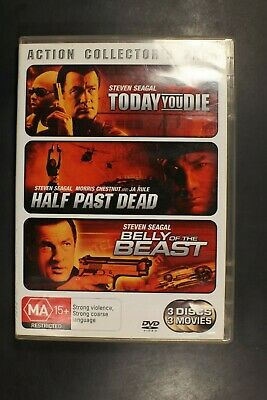 Steven Seagal Action Collector's Pack - [Region 4]  Pre-Owned DVD (D329)