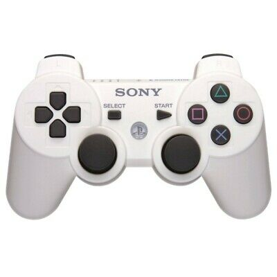 PS3 / Playstation 3 - official DualShock 3 Wireless gamepad #white [Sony]