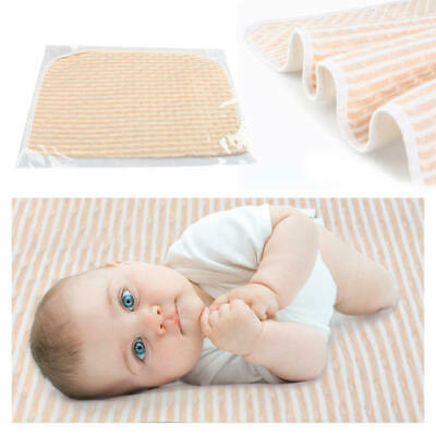 Beige Changing Baby Soft Diaper Pad Absorb Fast Baby Urine Leak Protection new