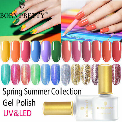BORN PRETTY Spring Summer Collection UV Gel Polish Multiple Colors Nail Art 6ml