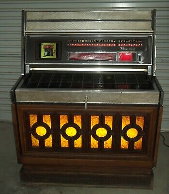 Rowe/AMI 1970 Vinyl 45rpm MM-4 Jukebox, 200 selection, Working Project