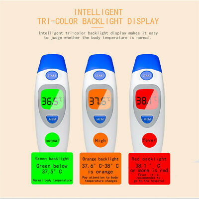 Baby Kids Digital Medical Infrared Forehead and Ear Thermometer Adults Body Care