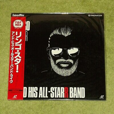 RINGO STARR And His All-Star Band [The Beatles] NEW/SEALED 1994 JAPAN LASERDISC