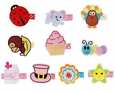 Bundle Monster 10 pc Bañador para bebé diseño de(Set 2: Adorable Angel)