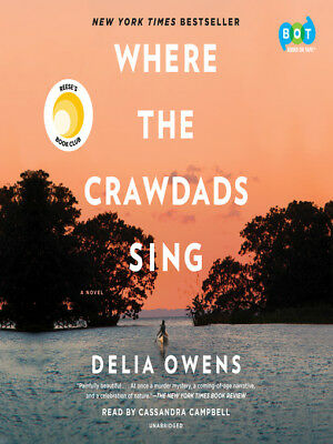 WHERE THE CRAWDADS SING – By Delia Owens [AUDIO BOOK DOWNLOAD]