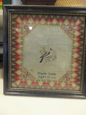 Sampler  in original frame 1841
