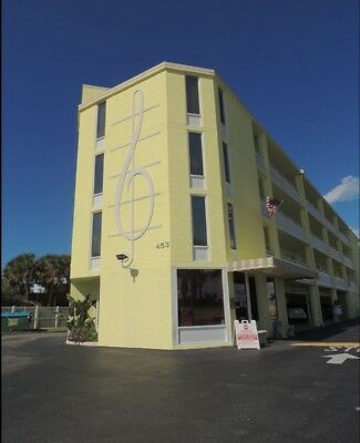 Ocean View Condo Ormond Beach, Daytona Beach Florida Studio Unit 300 Square Feet