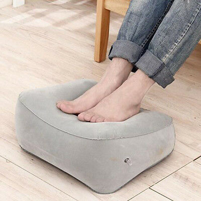 Portable Travel Pillow Soft Inflatable Foot Rest Lightweight Cushion Camping