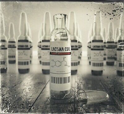 Lacuna Coil - Dark Adrenaline [Deluxe Edition] [CD/DVD] (CD, 2012, 2 Discs) NEW