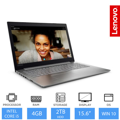 "Lenovo IdeaPad 320 15.6"" Intel Core i5 Processor Laptop 8GB RAM, 2TB HDD, Win 10"