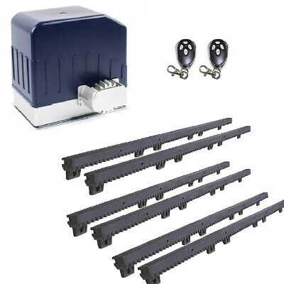 ALEKO Sliding Gate Opener For Sliding Gates Up to 60 ft Long and 1400 lb