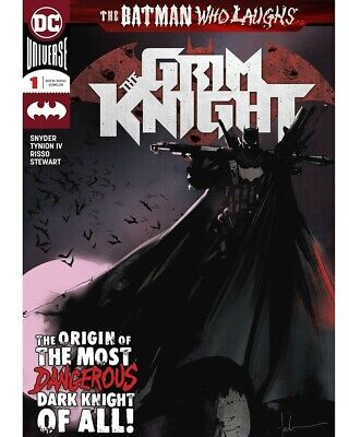 Batman Who Laughs The Grim Knight #1 Dc Comics Main Cover First Print