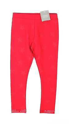Next Girls Red Leggings Age 3
