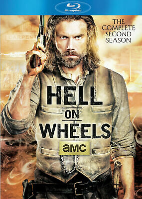 Hell on Wheels The Complete Second Season Blu Ray 2013 3 Disc Set New !!!