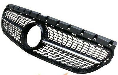 Front Mesh Grill Grille For Mercedes Benz W246 B200 B-Class 2015 2016 2017 Vent
