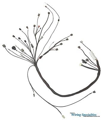 Wiring Specialties Pro Engine Tranny Harness For R33 Rb25det To