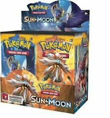 Pokemon POKEMON SUN AND MOON Booster Box English Factory Sealed NEW