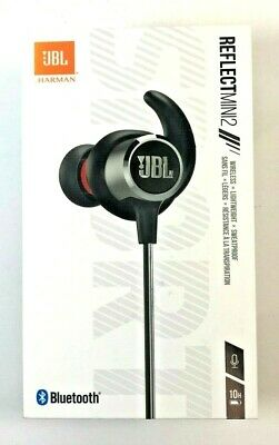 d1e19db9586 JBL Reflect Mini 2 Wireless In-Ear Sport Headphones with 3-Button  remote&mic blk