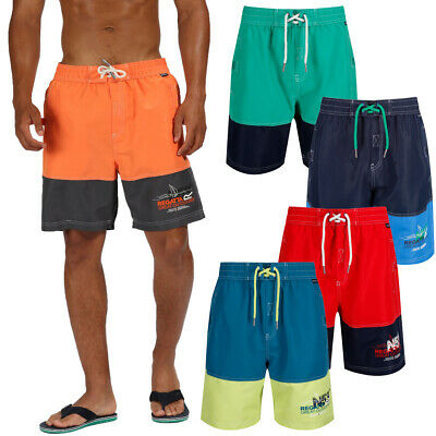 7ee2dc5105 REGATTA MENS HOTHAM Iii Beach Swim Board Shorts Quick Dry Multi ...