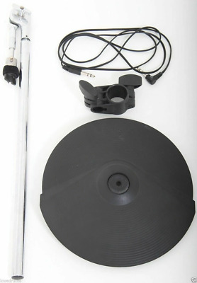 """Roland CY-8 Electronic Dual Trigger 12"""" Cymbal + Mount/Arm + Rack Clamp + Lead"""