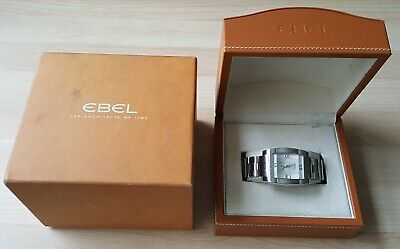 Gent's Stainless Steel Ebel Tarawa E9127J40 Automatic Plus + Inner & Outer Boxes