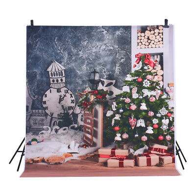Andoer 1.5 * 2m Photography Background Backdrop Digital Printing Christmas V9A5