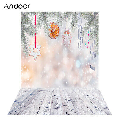 Andoer 1.5 * 2m Photography Background Backdrop Digital Printing Christmas A5K7