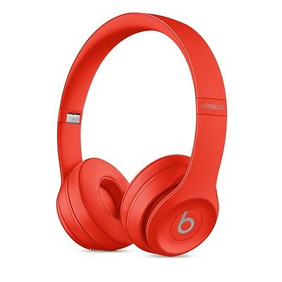 Brand New  BEATS BY DRE Solo 3  BLUETOOTH WIRELESS Headphones RED