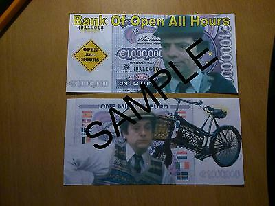 Open All Hour Granville 1 Million Euro Bank Note Millionaire Banknote Xmas
