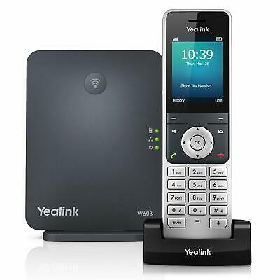 Yealink W60P Cordless DECT IP Phone and Base Station