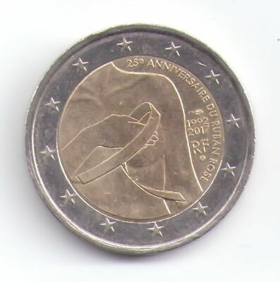 2 EURO France 2017: 25th anniversary of the pink ribbon