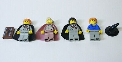Lego Harry Potter Professor Lockhart Pink From Set 4730 Lot With Extras