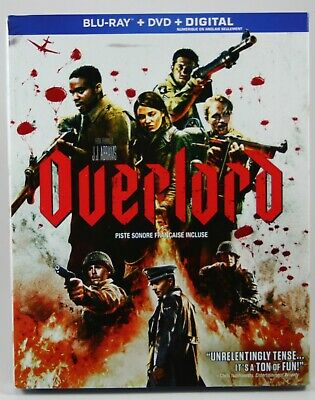 Overlord 2018 [Blu-ray + DVD + Digital] BRAND NEW Slipcover J. J. Abrams