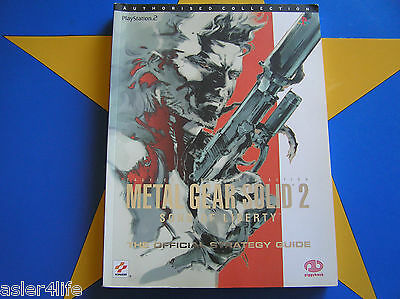 Metal Gear Solid 2 Sons Of Liberty - Strategy Guide
