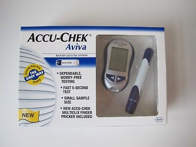 Accu-Chek Aviva Diabetes Blood Glucose Monitor/Meter System