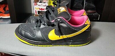 959ac3473063 NIKE 2008 Dunk Low Premium SB Space Tiger SUPREME GOLD BOX RARE 313170 071