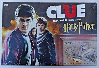 CLUE Harry Potter Edition Dark Magic at Hogwarts COMPLETE Sealed Parts