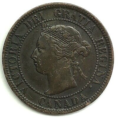 1899 Canada One (1) Cent - Queen Victoria - 120 YEARS OLD! (DD2386)