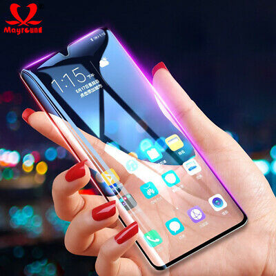 For Xiaomi Redmi Note7 Full Cover Curved Tempered Glass Film Screen Protector -J