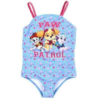Nick Jr. Paw Patrol Blue and Pink Swimsuit  2T 3T 4T