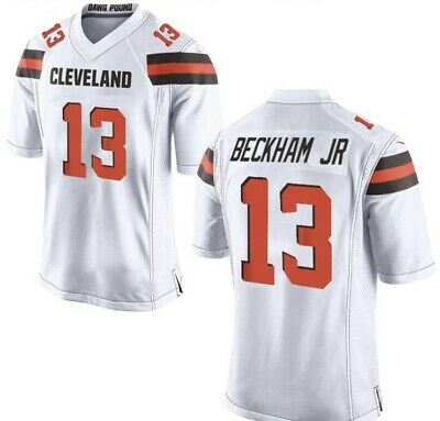check out c5847 bf256 *NEW* STITCHED ODELL Beckham Browns Jersey #13 S-XXL White Mens Football